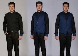 صادرات انواع لباس گارسون مردانه