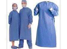 مرکز فروش جدیدترین لباس بیمارستانی یکبار مصرف