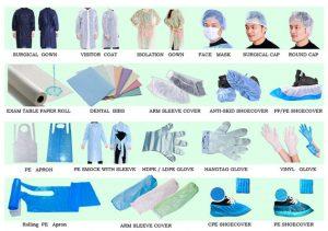 فروشگاه انواع لباس بیمارستانی یکبار مصرف