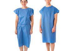 پخش جدیدترین لباس بیمارستانی یکبار مصرف