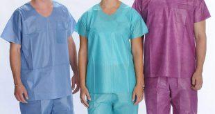 قیمت فروش انواع لباس بیمارستانی یکبار مصرف
